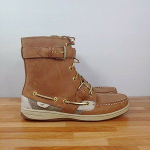 Sperry Hikerfish Leather High Top Women's Size 9